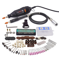 Mini DIY 220V 180W 10000 37000RPM Woodworking Metalworking Electrical Drill With Dremel Locator For Polishing Drilling