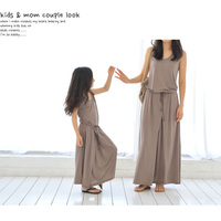 2016 New Arrival Vestidos Madre E Hija Summer Mother And Daughter Dresses Beach Mommy And Daughter