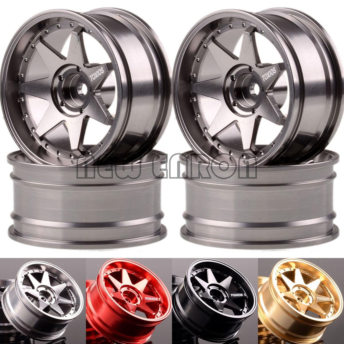 NEW ENRON 4P 1.9 Aluminum 7 Spoke Wheel Rim 1071 For RC 1/10 On Road Drift Rock Crawler 1:10