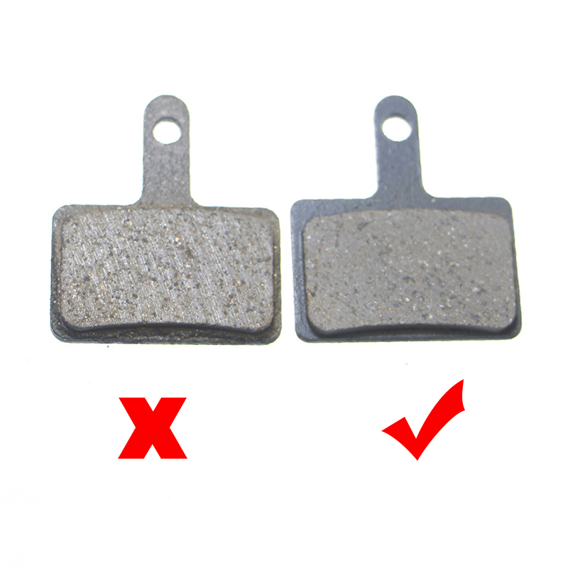 6 Pairs Bicycle Disc Brake Pads for Shimano Deore (BR M465 475 515 525)/Auriga Comp/Clarks S2/Tektro Draco/TRP Spyre/Hylex/B01S