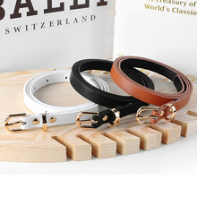 5 colors fashion female thin belt women 2019 high quality Strap women leather tr