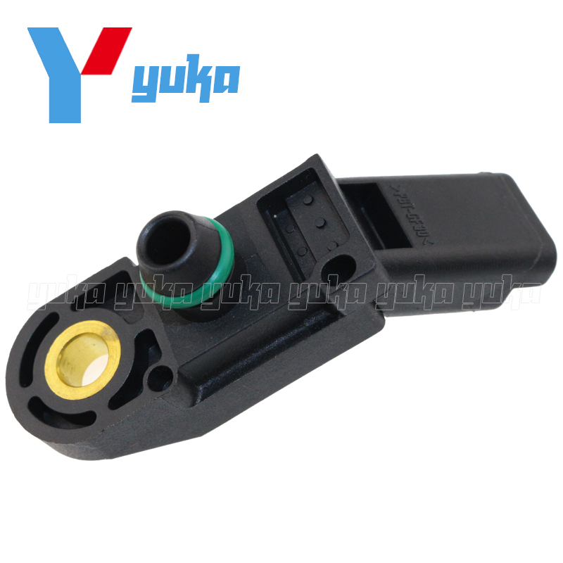 fa0b659a4ea0 100% Test MAP Sensor Intake Air Boost Pressure Manifold Absolute Druck  Sender For Peugeot 307 407 607 807 CC SW 2.0 2.2 1920AN