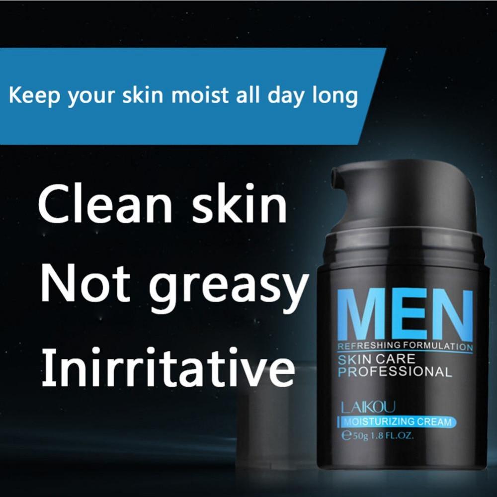 50g Brand Skin Care Men Deep Moisturizing Oil-control Face Cream Hydrating Anti-Aging Anti Wrinkle Whitening Day Cream 3