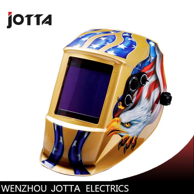 Eagle Claw largest viewing eara 4 arc sensor Solar auto darkening filter TIG MIG ARC welding mask/helmet/eyes mask /device все цены