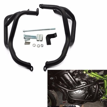 Motorcycle Highway Engine Protetive Guard Crash Bar 100% Brand New Z 900 Protector Bumper Black For Kawasaki Z900 2017