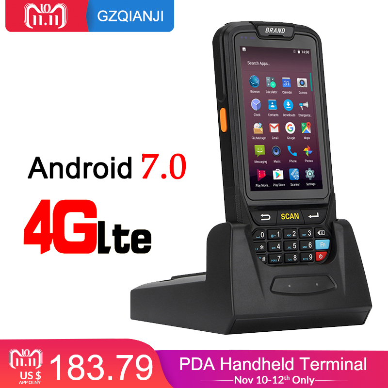 PDA Barcode scanner 1D 2D Bluetooth Android Handheld Terminal Rugged PDA Wireless Mobile 1D Bar code Scanner Data Collector сетка для духовки и гриля marmiton диаметр 24 см
