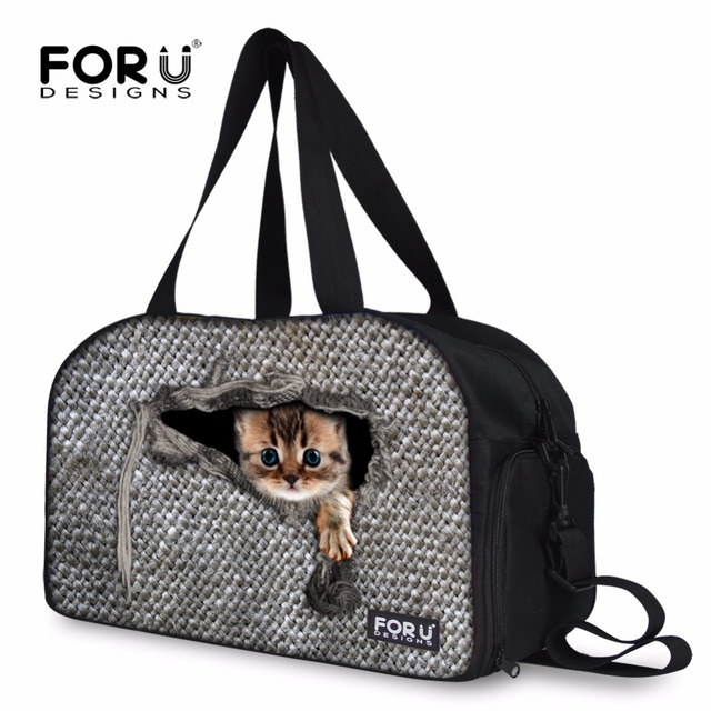 FORUDESIGNS 2017 Women Travel Luggage Bag ff9d3f662559e