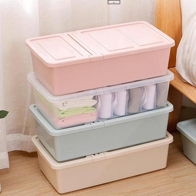 Underwear Bra Organizer Storage Box Drawer Closet Organizers Boxes For  Scarfs Socks Necktie Divider Clothes Container