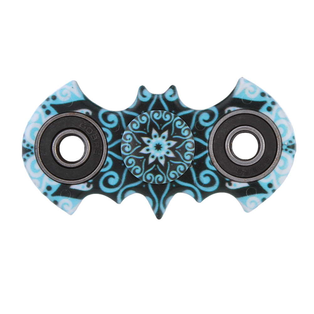 2017 Autism ADHD Fidget Spinner Stress Relief Toy Bat Style Finger spinner Plastic Bearing Toys
