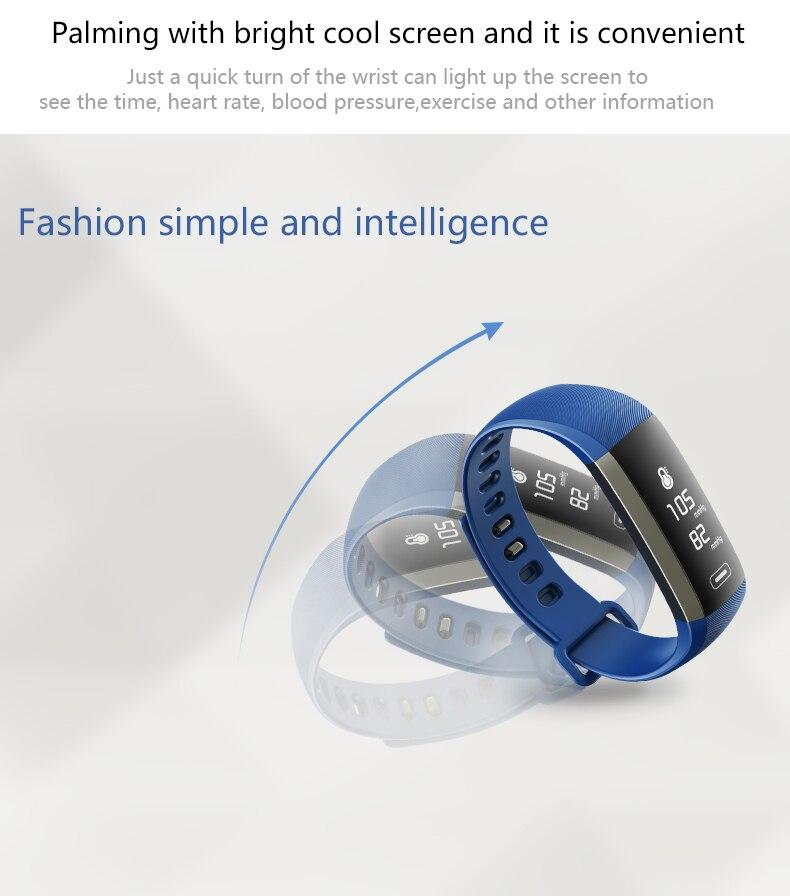 M2 Pro R5MAX Smart Fitness Bracelet Watch 50word Information display blood pressure heart rate monitor Blood oxygen PK Mi Band 3 (5)