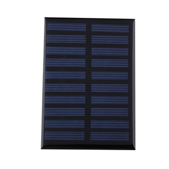5V 0.8W 160mA Mini Solar Panel Battery power charger charging ModuleCell car boat home Solar Panel Portable Solar Controllers image