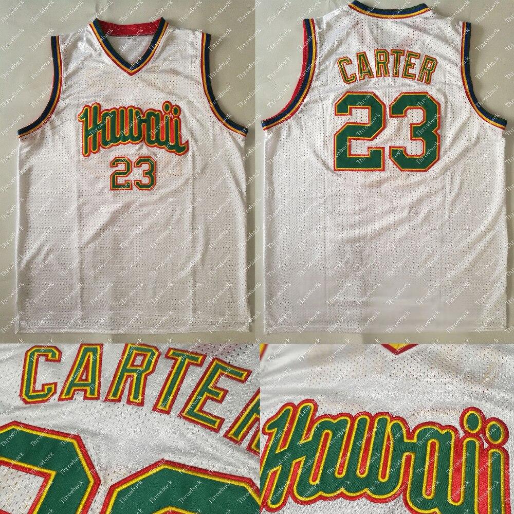 UH University of hawaii Micah Kroeger Alika Smith Anthony Carter Eric Ambrozich Seth Sundberg Basketball Jersey S-4XL stitched