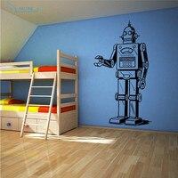 Машина возраст Виниловые Настенные ручной мультфильм Наклейки на стену арт мальчик дети спальня для детей номеров Декор