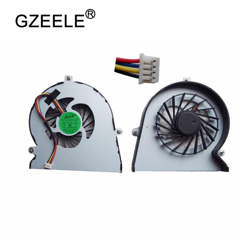 GZEELE охлаждающий вентилятор для ноутбука, подходит для lenovo Ideapad Y560 Y560A Y560P, сменный вентилятор для ноутбука, кулер