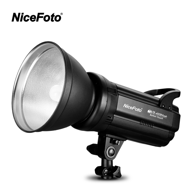 NiceFoto TB-400B 400W Studio Flash fast recycling time TB-400B Studio profession photography studio light lamp touch button