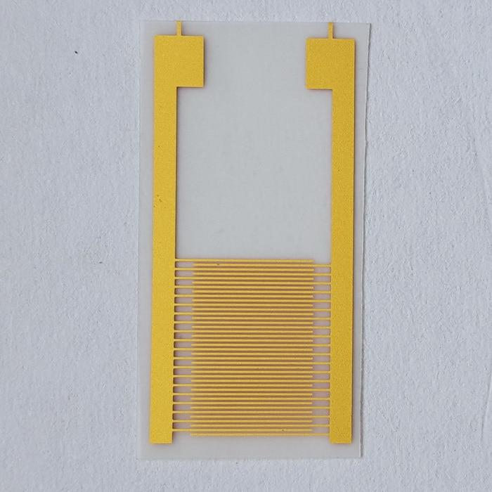 Flexible interdigital electrode polyethylene glycol terephthalate(PET)Gold Alternating finger electrode for IDT membrane circuitFlexible interdigital electrode polyethylene glycol terephthalate(PET)Gold Alternating finger electrode for IDT membrane circuit