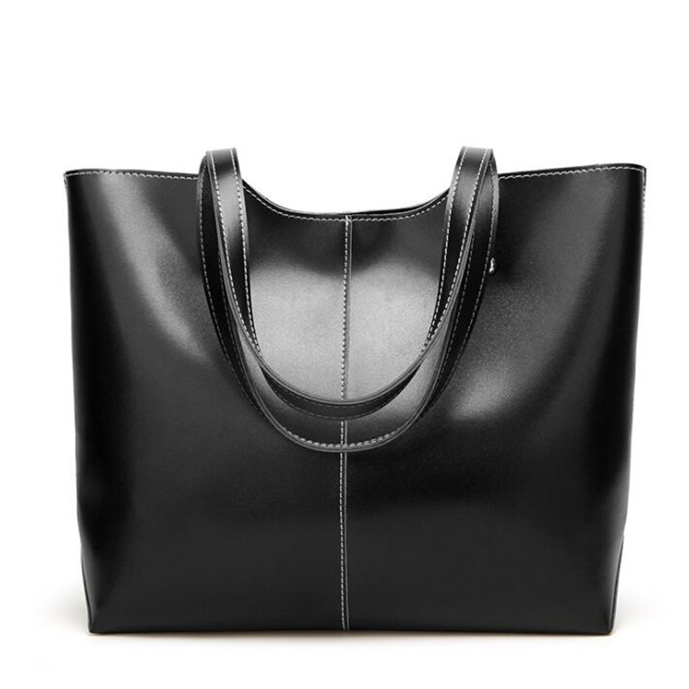 купить New Arrival Genuine Leather Women Handbags Shoulder Bags Elegant Style Classic Design Bags High Quality недорого