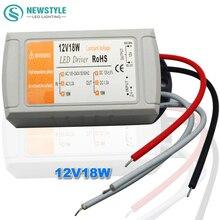 Драйвера трансформатор фонари индикатор полосы переключатель dc питания адаптер светодиодные вт