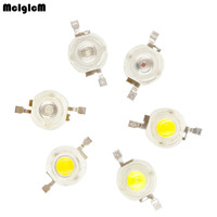1w led chip 3w high power LED lamp beads white, Warm white, Red, Yellow, Green, Blue light