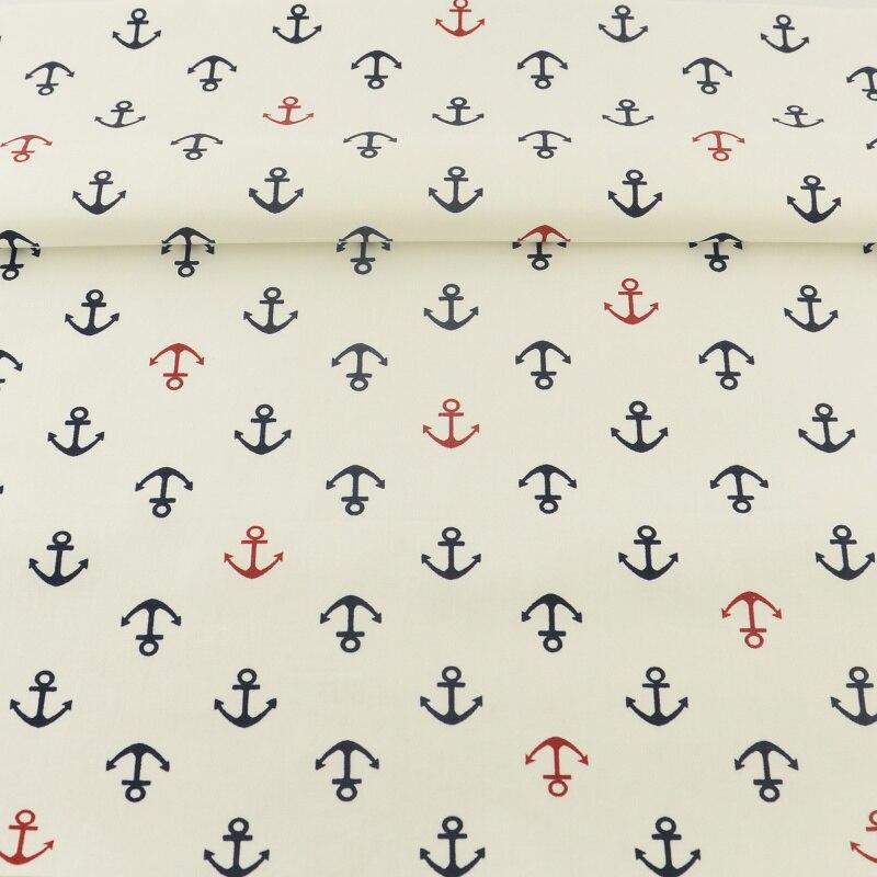 Textiles Para El hogar Anclas Marinas Diseños Sarga Tilda Tela de Costura Scrapb