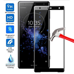 На Алиэкспресс купить стекло для смартфона full cover tempered glass for sony xperia xz2 premium screen protector explosion-proof clear film for sony xz2 premium