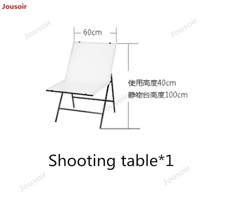 45 watt led kleine leven tafel dubbele lamp set Eenvoudige studio vulling licht foto schieten zacht Licht Doos CD50 T03 - 3