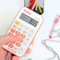 Elektronischen Taschenrechner candy farbe cartoon student berechnen 8 Digit Calculator Mini Berechnung Werkzeug Schreibwaren-in Taschenrechner aus Computer und Büro bei
