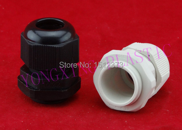 100 piece/lot PG13.5 plastic cable gladns nylon66 material PG type ge plastics plastic cable gland din pg type a wrap sell