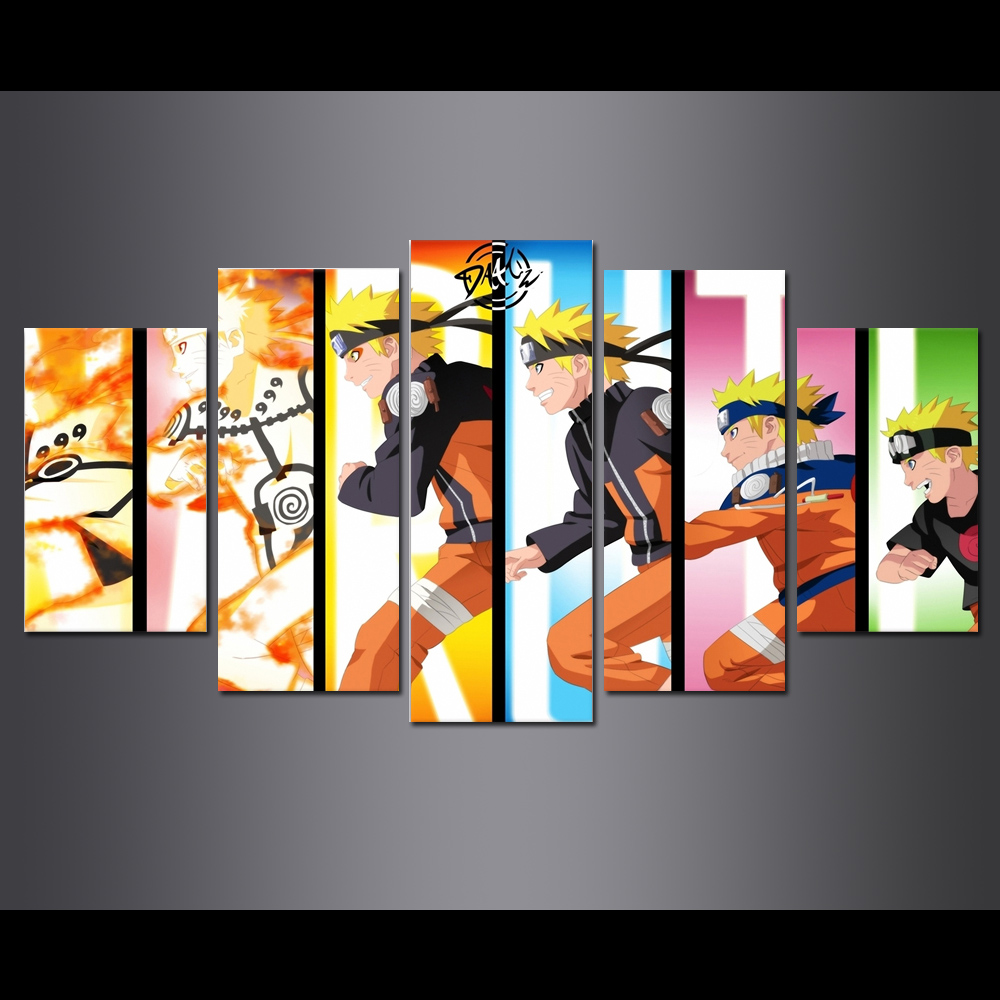 Unframed Canvas Prints Animatio Hokage Naruto Giclee Modular Picture Wall Pictures For Living Room Wall Art Decoration