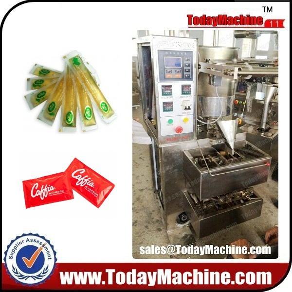 automatic honey sachet packing machine, automatic ketchup