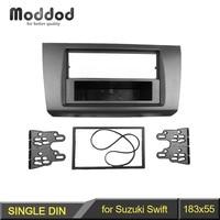 1 Or Double Din Fascia For SUZUKI SWIFT 2005 2010 DVD Panel Dash Mounting Trim Kit