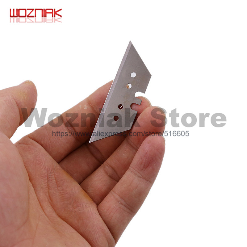 Wozniak 10pcs/lot T Blade Spare Blade For Art Knife Superhard SK5 Electric Iron LCD Screen Shovel Polarizing Shovel Blade