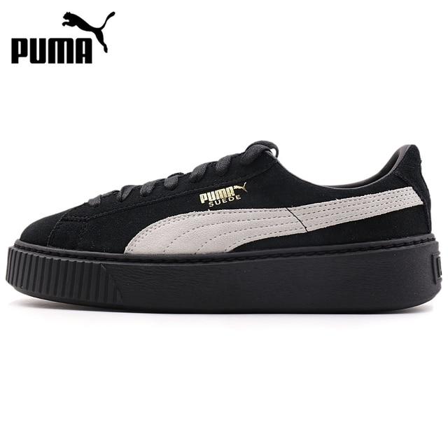 scarpe donna puma suede platform