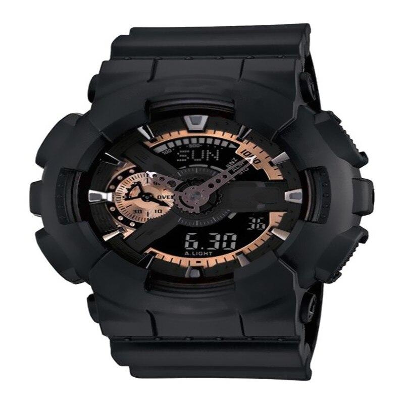 2019 New Shock Men's Sports Watch GA110 Large Dial Quartz Digital Watch Men's Luxury Brand LED Military Waterproof Men's Watch