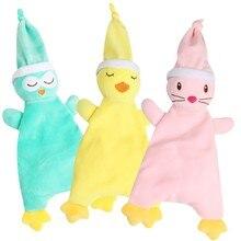 Мягкие плюшевые игрушки для младенцев, мягкие игрушки для младенцев, мягкие игрушки-полотенце, спокойная кукла, Прорезыватель для детей