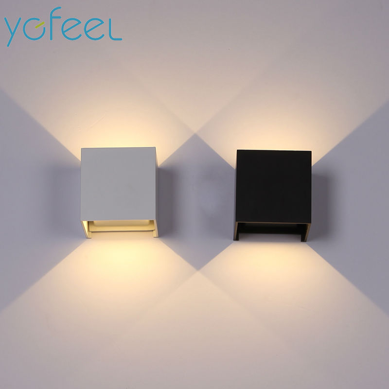 [YGFEEL] 10W/6W LED Wall Lamps Outdoor Waterproof IP65 Courtyard Garden Lamp Indoor Living Room Lighting Decoration AC90-260V
