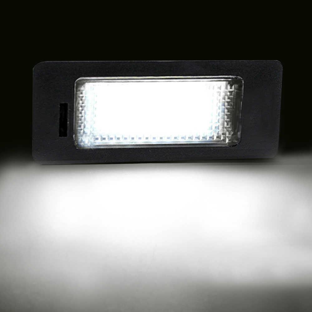 2 pièces/ensemble LED numéro de voiture plaque d'immatriculation lumières lampe ampoule pour Vauxhall Opel Corsa C D Astra H J Vectra résistant aux chocs longue durée