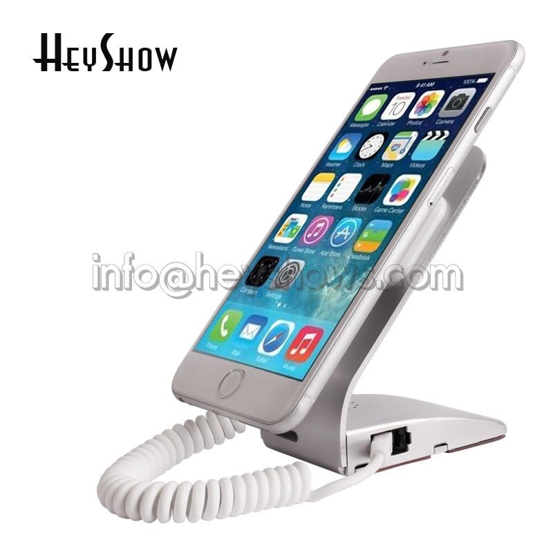 10 STK Simple Metal Mobiltelefon Sikkerhed Display Alarmstativ med - Sikkerhed og beskyttelse - Foto 6