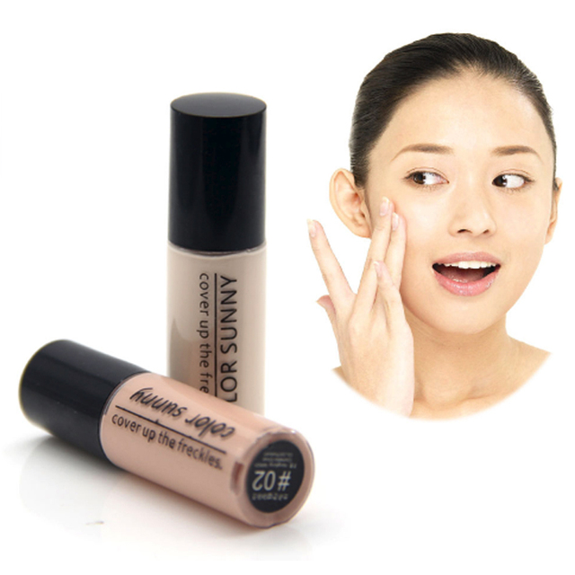 Color Sunny brand Hot sale Concealer Black eye concealer liquid face primer lasting liquid contour makeup foundation makeup 2