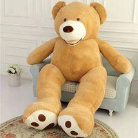 340cm Soft American Giant Bear Skin Bear Toy Big Animals Bears Coat For GirlFriend Valentine's Day Gift Animal Teddy Bear Coats