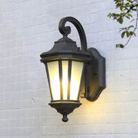 Outdoor wall lamp octagonal classic European house outdoor wall waterproof garden lamp balcony aisle lighting wx12031126