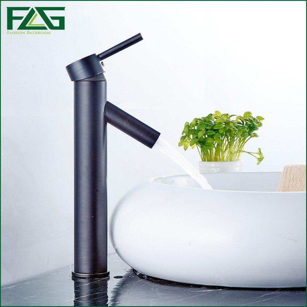 FLG European Bath Mat Oil Rubbed Bronze Bathroom Faucets Deck ...