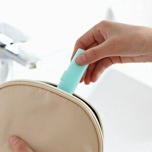 Image 4 - נוח למשוך סוג מפתח טבעת יד לשטוף נייר סבון אנטיבקטריאלי אנטי וירוס פתיתי נסיעות נייד ריחני פרוס אמבט סבון