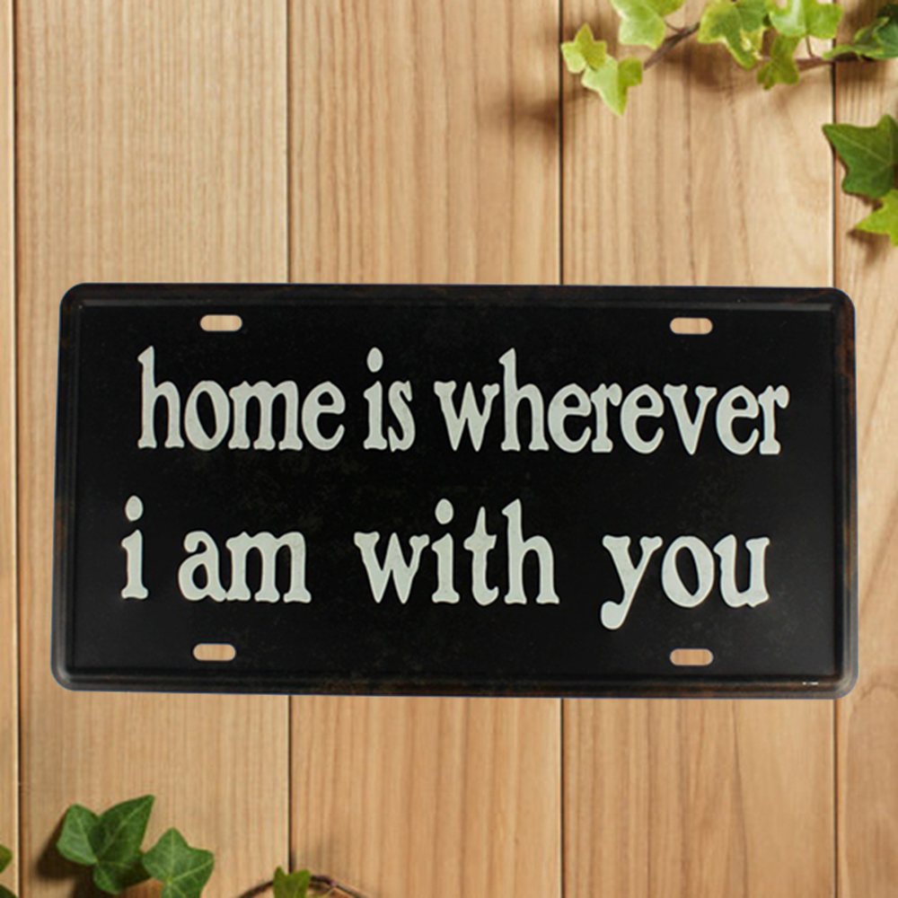 [ Kelly66 ] Sign Metal Plaque Bar House Wall Signs Painting Craft 15*30 CM Size P4