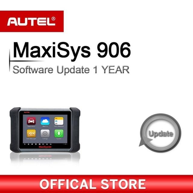 Flash Promo Autel Original MaxiSYS MS906 Diagnostic Scanner 1 Year Software Update Service OBD2 OBD OBD 2 Eobd Code Reader Diagnostic Tool