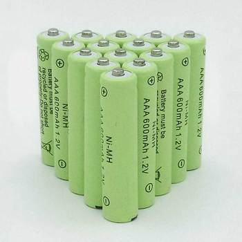 10/20pcs AAA Rechargeable Battery aaa NiMH 1.2V 600mAh Ni-MH 3A Pre-charged Bateria Rechargeable Batteries new arrival 4pcs pkcell 1 2v aa ni mh 2600mah lsd rechargeable batteries bateria pre charged batteries set with 1200 cycle