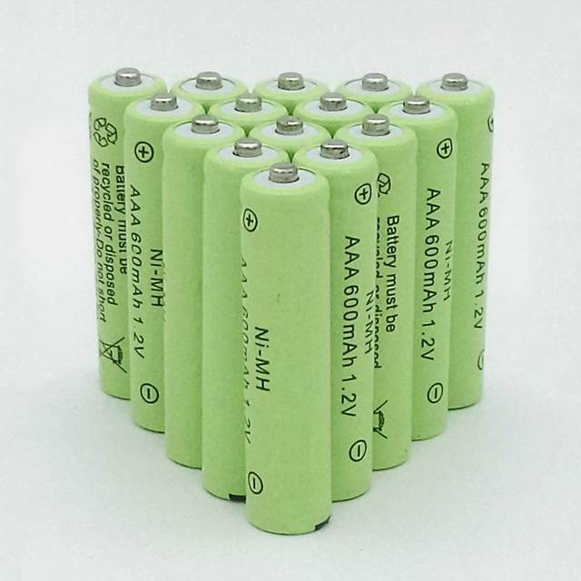 10pcs a lot AAA Rechargeable Battery AAA NiMH 1.2V 600mAh Ni-MH 3A Pre-charged Bateria Rechargeable Batteries