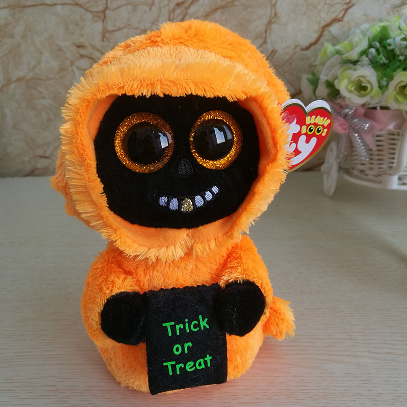 2018 New Halloween Ghost Plush Toy Ty Beanie Boos
