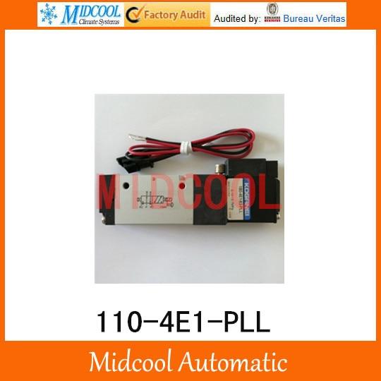 High quality 110-4E1-PLL Two-position five-way pilot solenoid valve AC220V single solenoid 5 way pilot solenoid valve sy3420 5d 03