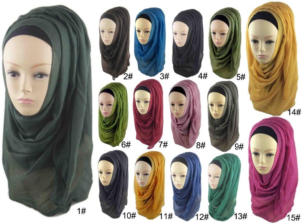 180*100 см мусульманское исламское плотная Негабаритных Макси шарф платок хиджаб Обёрточная бумага саронг Вискоза Шаль Для женщин Шарфы для ж...